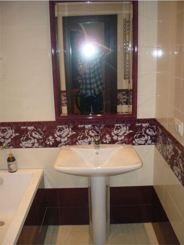 зеркало в раме в интерьере фото