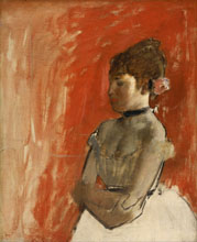 Edgar Degas Ballet Dancer with Arms Crossed