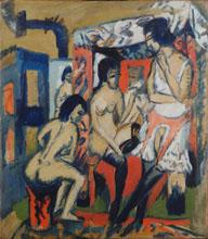 Репродукция картины Nudes in Studio