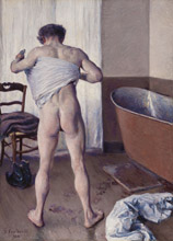 Man at His Bath