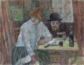 At the Cafe La Mie