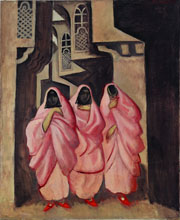 Three Women on the Street of Baghdad