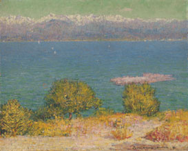 Landscape Antibes The Bay of Nice