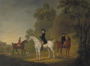 Thomas Stringer Lord Bulkeley and his Harriers his Huntsman John Wells and Whipper In R Jennings