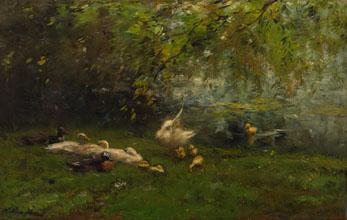 Willem Maris Duck heaven
