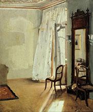 Adolph Menzel Das Balkonzimmer