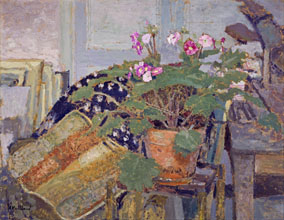 Edouard Vuillard Le Pot de fleurs