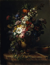 Francesc Lacoma i Fontanet Vase with Flowers