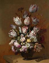 Hans Bollongier Stilleven met bloemen