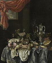 Abraham van Beijeren Sumptuous Still Life
