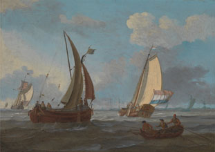 Adam Silo Dutch Shipping off the Low Countries
