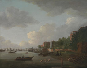 Adrien Leprieur An Imaginary View of Westminster Bridge