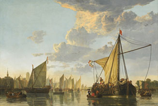 Aelbert Cuyp The Maas at Dordrecht