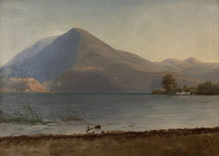 Albert Bierstadt On the Hudson