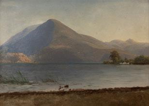 Albert Bierstadt On the Hudson