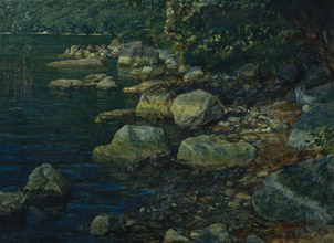 Alexander Ivanov Water and Stones near Palazzuola