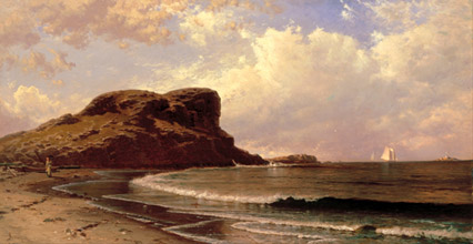Alfred T Bricher Castle Rock Nahant Massachusetts